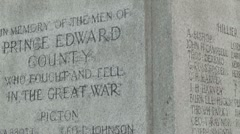 War memorial 03 - stock footage