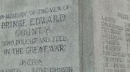 War memorial 03 Stock Footage