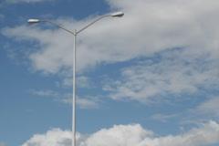 Passing streetlights. SD. Stock Footage