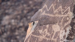 Petroglyph National Monument  9504 Stock Footage
