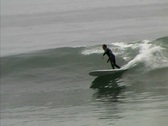 Stock Video Footage of Baja Sur-San Carlos surf wave