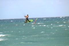 Kitesurf-big air Stock Footage
