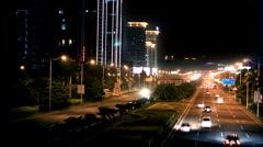 Urban highway china Stock Footage