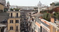 Rome skyline HD Footage