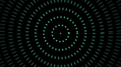 Stock Video Footage of Teal dots