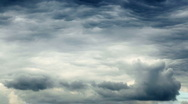 Cumulonimbus clouds Stock Footage