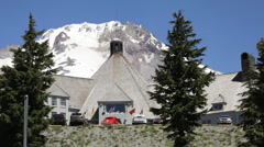 Timberline Lodge - stock footage