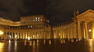 Stock Video Footage of Saint Peter Square, Rome