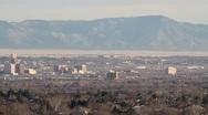 Downtown Albuquerque New Mexico Stock Footage