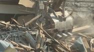 Church demolition 03 Stock Footage