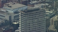 Stock Video Footage of Center Point London Aerial