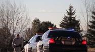 Stock Video Footage of Sheriff Crime Scene 9555
