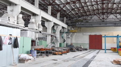 Factory building Stock Footage