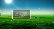 Green Field Stock After Effects
