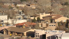 Albuquerque New Mexico Homes - stock footage