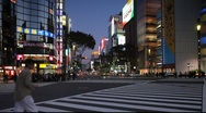 Ginza, Tokyo, Japan Stock Footage