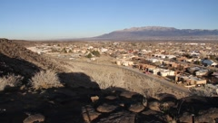 Albuquerque New Mexico Views Stock Footage