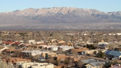 Albuquerque New Mexico Scenic Stock Footage