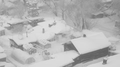Frosty Day Stock Footage