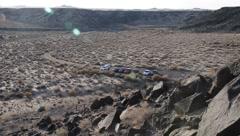 New Mexico Petroglyphs 9405 Stock Footage