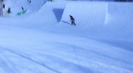 Stock Video Footage of Ski jump at Park City HD2968