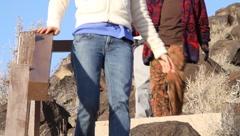 New Mexico Petroglyphs 9398 Stock Footage