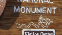 New Mexico Petroglyphs 9367 Stock Footage
