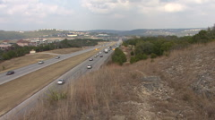 Roadway In Austin, Texas Stock Footage
