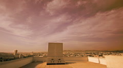 Corbusier rooftop marseille building Stock Footage