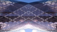 swiss re gerkin building abstract london - stock footage