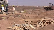 Stock Video Footage of Construction workers in Iraq