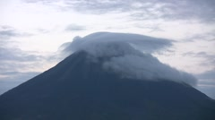 Volcano Timelapse (Arenal) Stock Footage