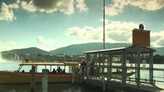 Geneva lake - stock footage
