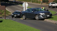 Car Accident / Crash 01 Stock Footage