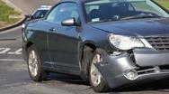 Car Accident / Crash 02 Stock Footage