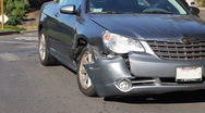 Car Accident / Crash 03 Stock Footage