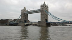Tower bridge - stock footage