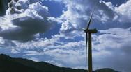 Windmill Farm 1 Stock Footage