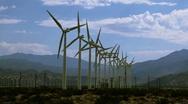 Windmill Farm 3 Stock Footage