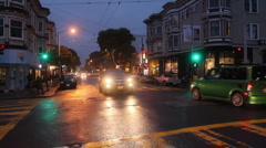 Haight & Ashbury Intersection Stock Footage