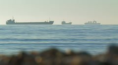 Nautical vessel on spot-check.  Stock Footage