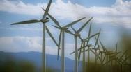 Windmill Farm 8 Stock Footage
