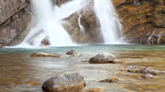 Cameron Falls, Time Lapse Stock Footage