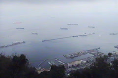 Gibraltar, upper view and monkey, exclusive on Pond5 - stock footage