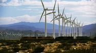 Windmill Farm 11 Stock Footage