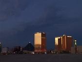 Las Vegas strip 1-1 Stock Footage