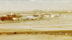 Las Vegas-busy tarmac and freeway - stock footage