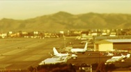 Stock Video Footage of Las Vegas-tarmac and takeoff