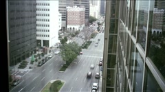 New Orleans-downtown tlapse38 - stock footage