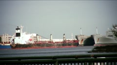 New Orleans-Mississippi tanker22 Stock Footage